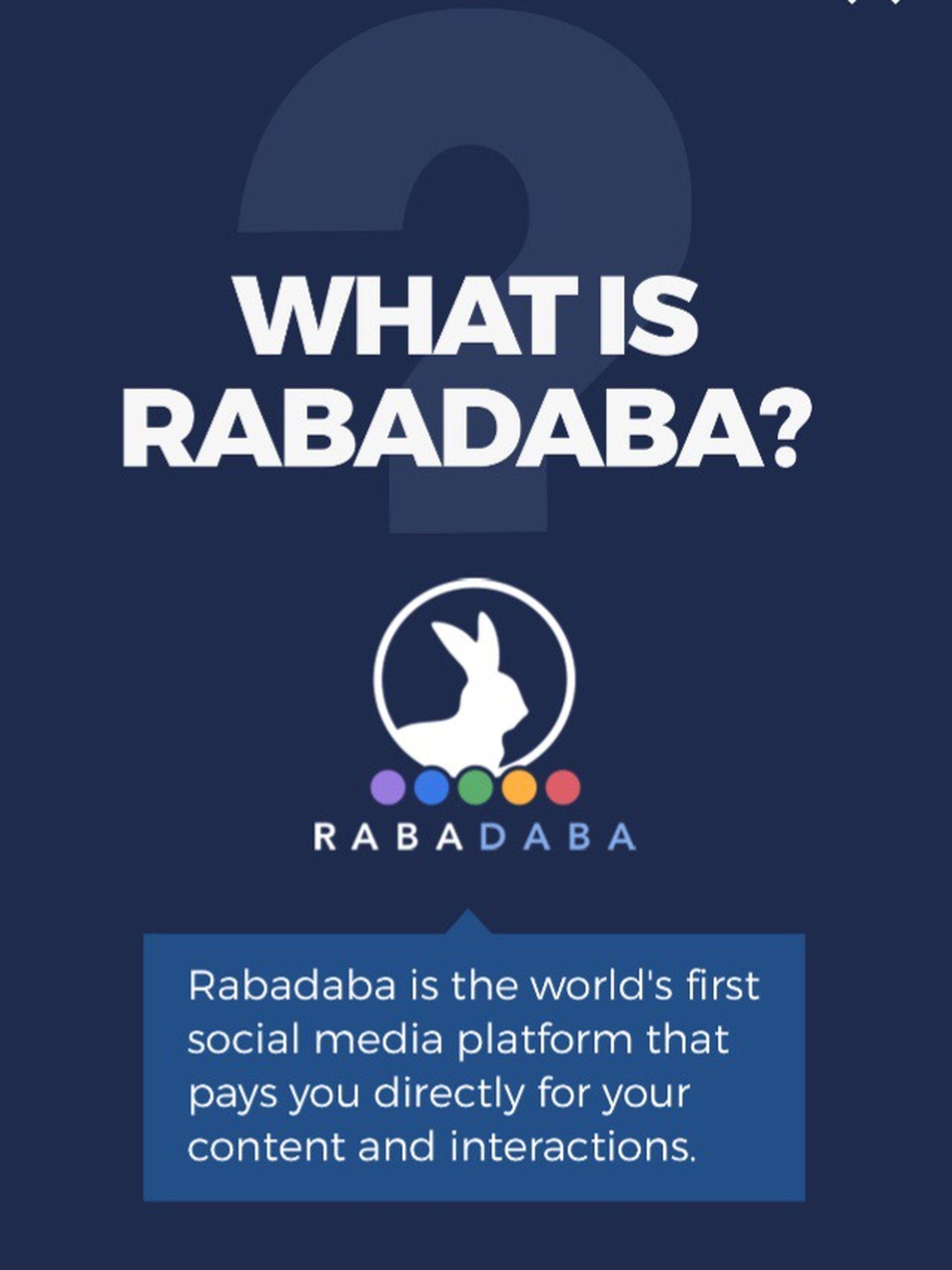 Photographers, Post pics on Rabadaba, a site similar to instagram. Earn Cash! http://www.rabadaba.com/welcome/Sadiemarie Rabadaba Earn Money