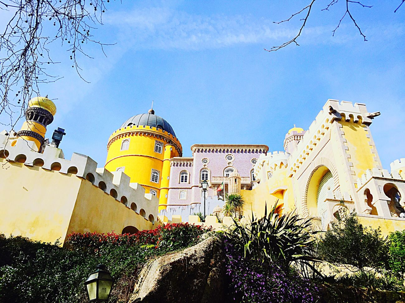 Sintra Hello World Palacios De Pena Holidays ☀ Lisboa Lisbonlovers Lisbon - Portugal Sintra (Portugal) Sintrasecrets Sintra Palace Park Fairytales & Dreams Fairytale Castle Fairytale Garden Fairyland Mustsee Beautiful Places Beautiful Places Around The World Beauty Redefined