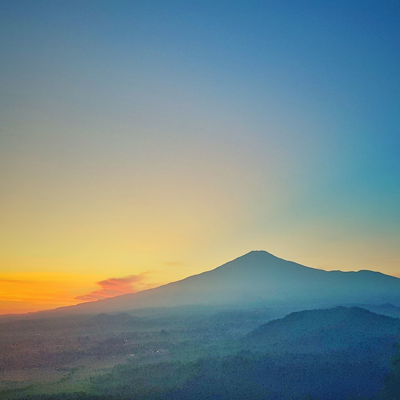 The Great Outdoors - 2017 EyeEm Awards Sunset Nature Beauty In Nature Landscape Outdoors Scenics No People Blue Sky Clear Sky Mountain Aerial Drone  Aerial Photography Sunrise Porn INDONESIA Terraced Field Sunrise Beauty In Nature Agriculture Freshness Sunrise Colors Drone  Dronephotography