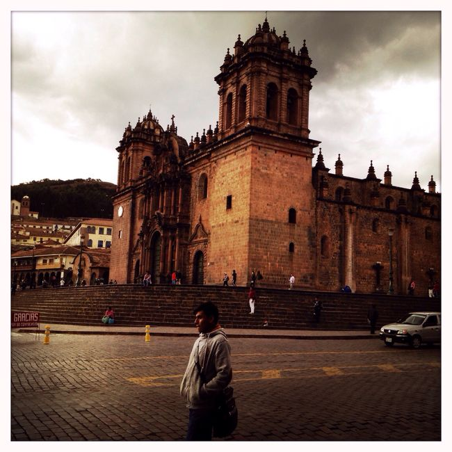 Catedral. Cusco, Perú. Cusco Peru Andes Southamerica Mobilephotography IPhoneography Hipstamatic Jane Blanko Standard Architecture Travel Church Street Arquitectura Viaje Iglesia Calle