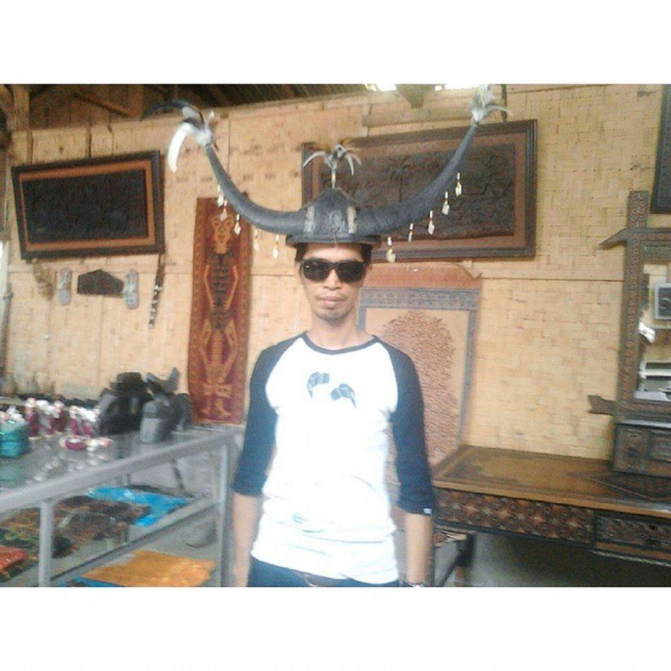 Penutup kepala khas Tana Toraja. NorthToraja INDONESIA