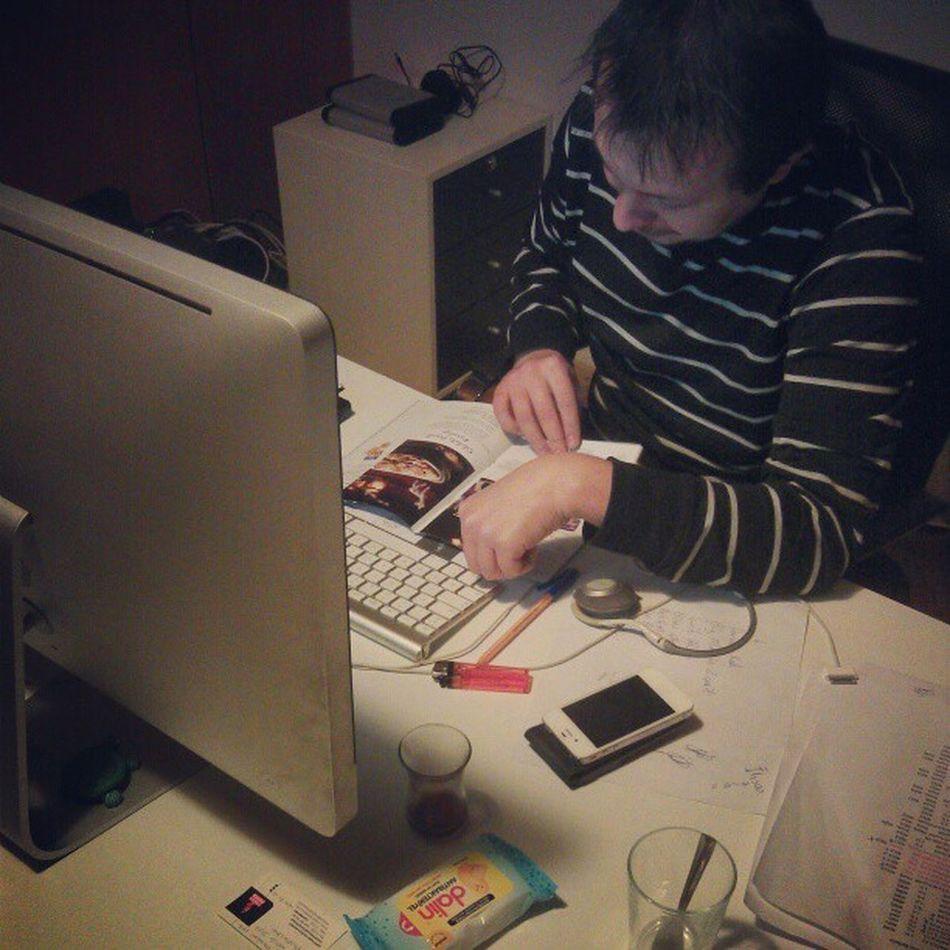 Creativenokta da çalışmalar devam eder... @ihsansa79