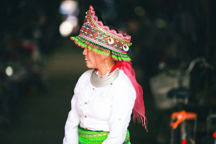 Vietnam Ethnic Portrait StreetphotographyThe Human Condition Asian Culture Pure Beauty Smile Highlands Travel Photography