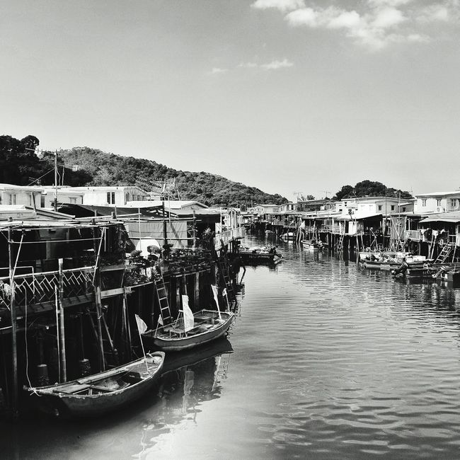 Eye4black&white  Black & White Black And White Photography Eye4photography  Fish Village TAIo