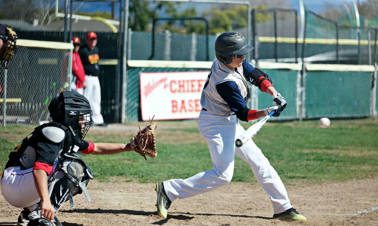Baseball Batting Baseball - Sport Child Competition Boys Baseball Bat Sport Candid Sports Uniform Baseball Uniform Protective Sportswear Day Baseball Player Sportsman Professional Sport Athlete Young Adult
