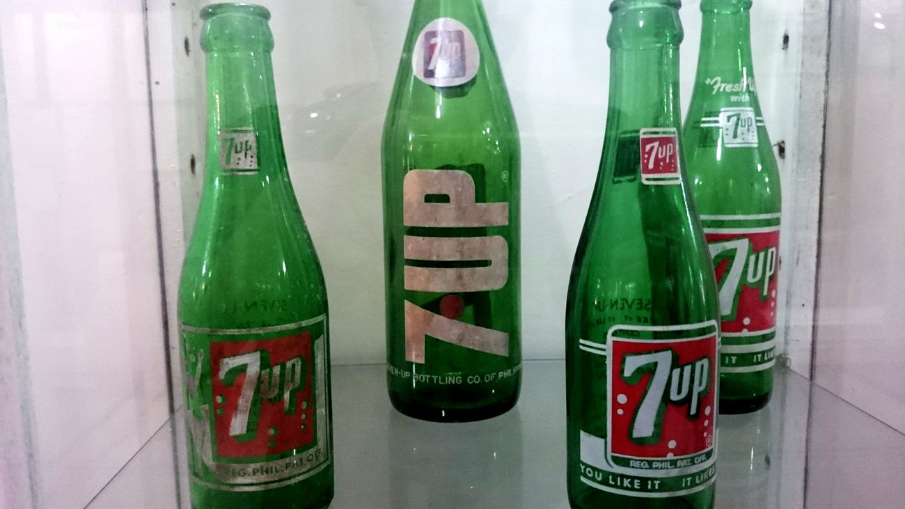 Oldbottles 7up Check This Out Manila, Philippines Escolta  Manilasqueenofstreets Taking Photos