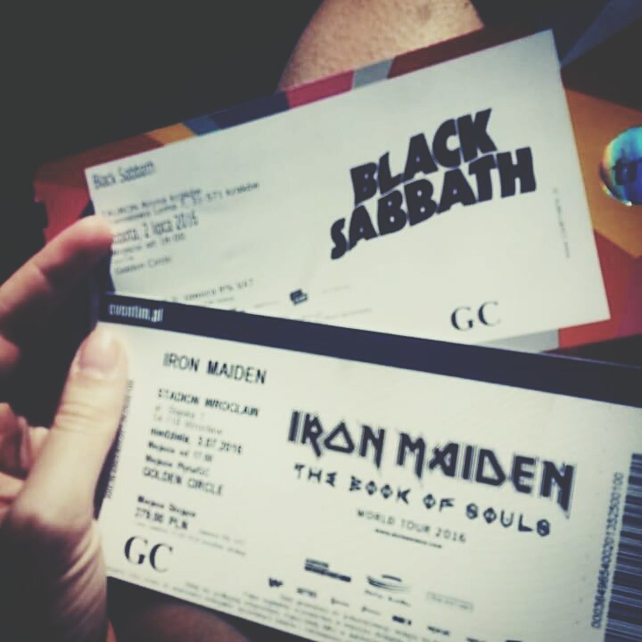 Best weekend ever! ❤❤👹MetalLover Ozzyosbourne Ozzy Blacksabbath Ironmaiden Brucedickinson Heavy Metal Metalhead Metal Concert Gig Performance Legends