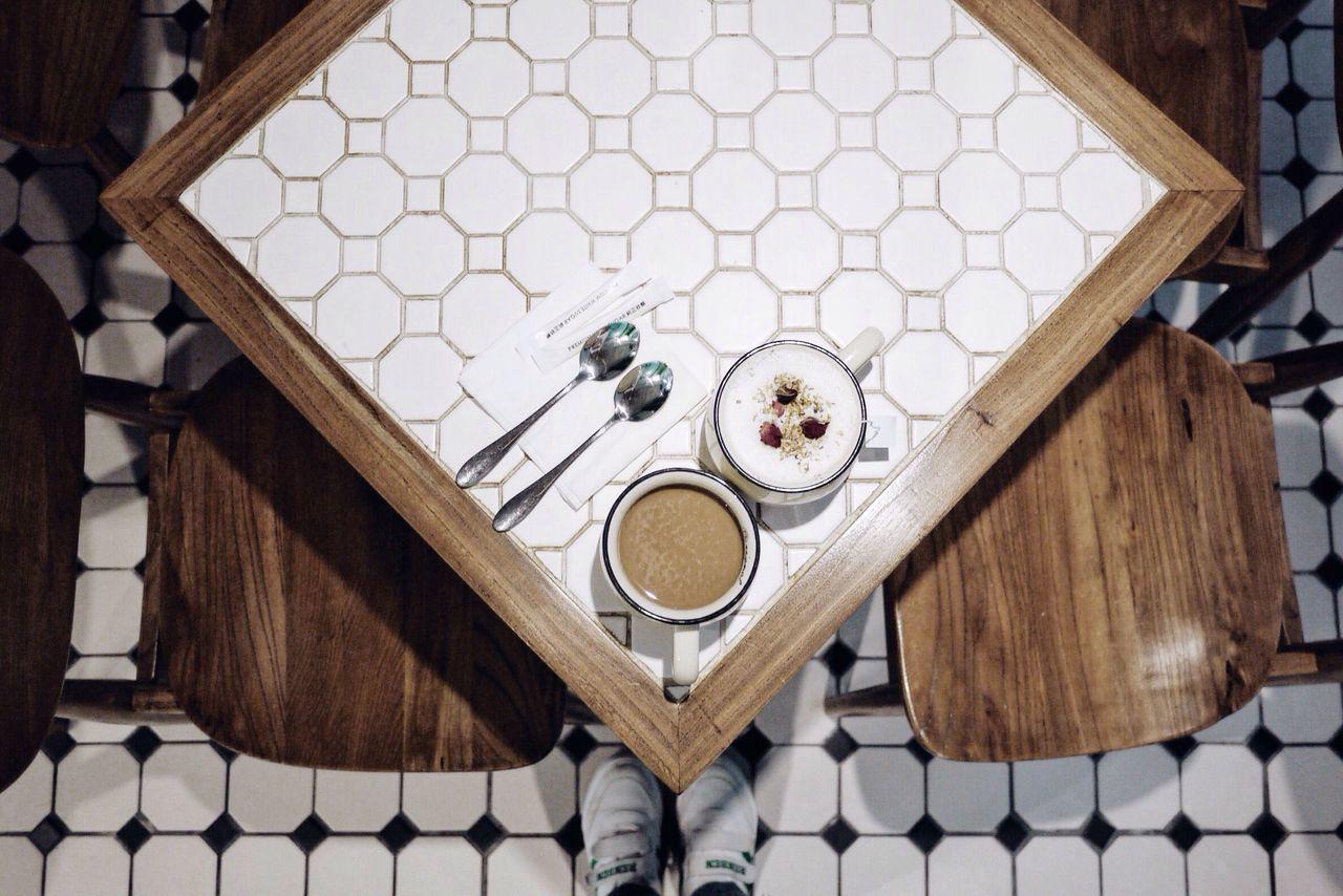 Rose Tea Hot Coffee 41 Cafe Angle Afternoon Tea Minimalism Minimal
