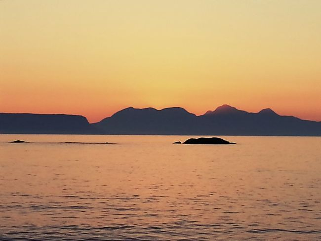 Sunset Sunset_collection Isle Of Rhum Islands Beautiful View