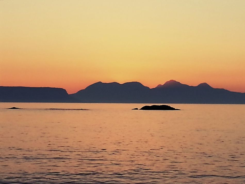 Sunset Sunset_collection Isle Of Rhum Islands Beautiful View