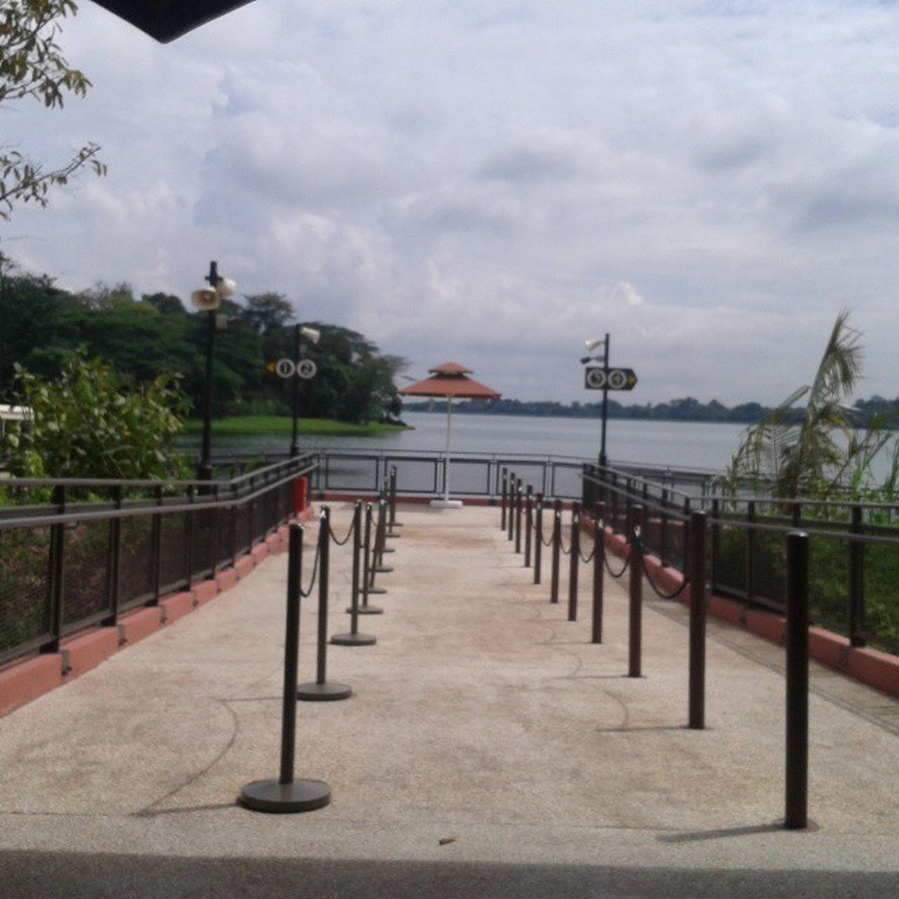 While waiting for the cruise to arrive. :) Scenery ExploringSingapore IndayGala