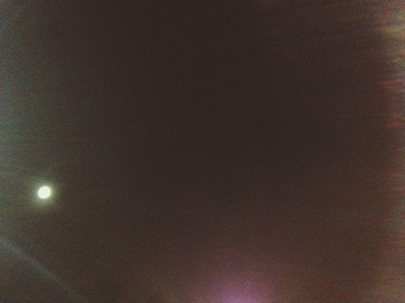 Moon The Night Sky