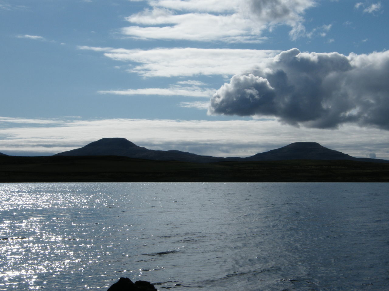 Beauty In Nature Cloud - Sky Clouds Day Isle Of Skye Landscape Landscape_photography Loch Caroy MacLeod's Tables Mountain Nature No People Outdoors Scotland Sea And Mountains Sea And Sky Sky Sun On The Sea Sun On The Water