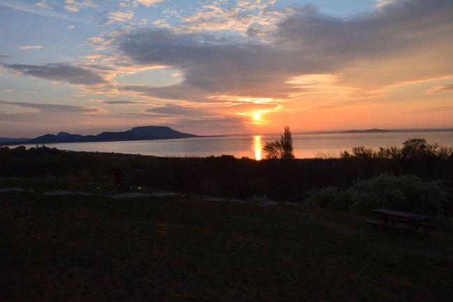 Landscape_Collection Orange Sky Sunrise_Collection Clouds And Sky Lake Mountain Sunrice #sunrice #morning #lovely Sunrise