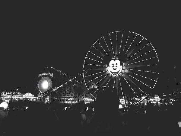 la / that compulsory disney photo California Night Black And White Eye4photography  Disney