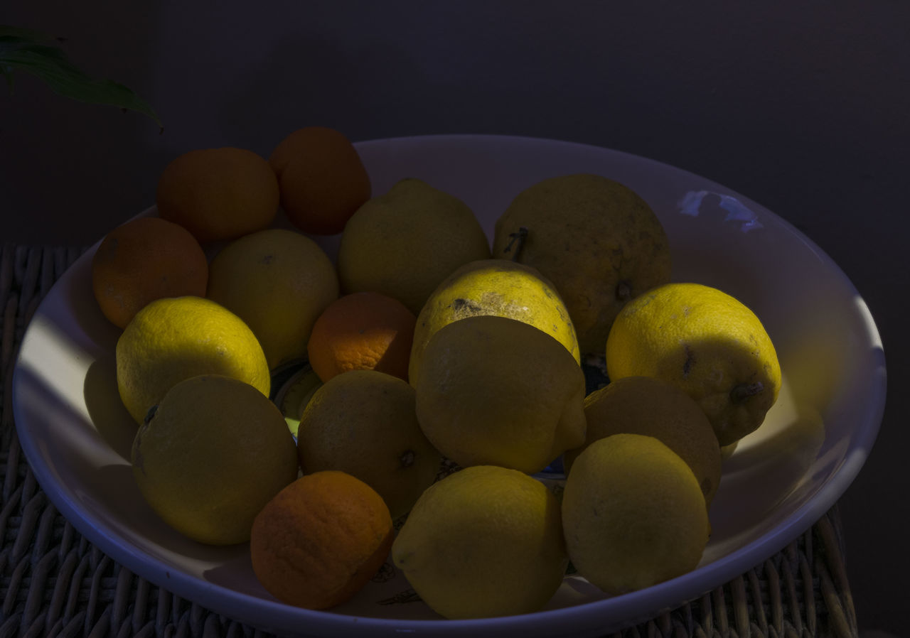 food and drink, food, fruit, bowl, no people, indoors, healthy eating, large group of objects, freshness, yellow, close-up, day