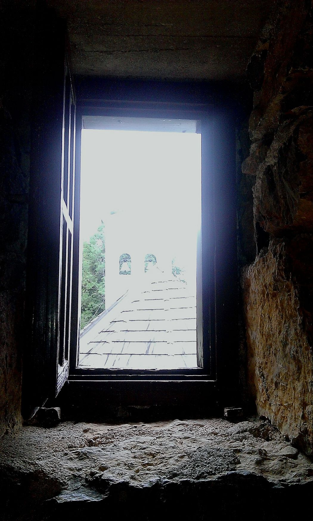 Window Window View Old Church Historical Building
