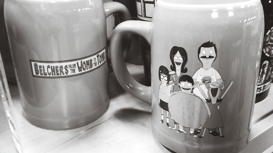 EyeEm Selects Belchers Bobsburgers Mug Mugs Comedy Tv Family Bob Linda Tina Louise Gene Tvfamily Collectibles Coffee Two 2 Pair Drink Fromthewombtothetomb Taco