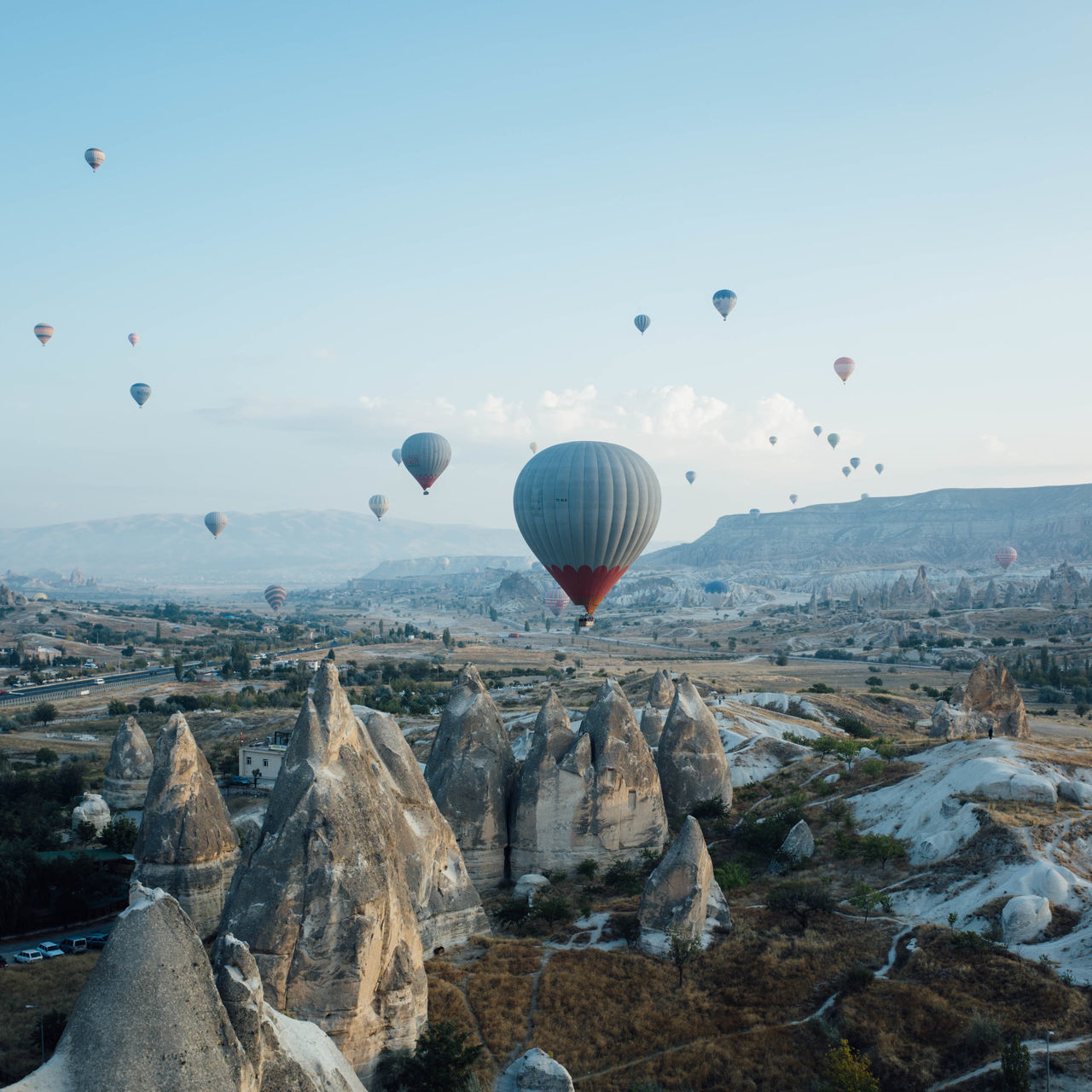 Beautiful stock photos of turkey, hot air balloon, mid-air, flying, transportation