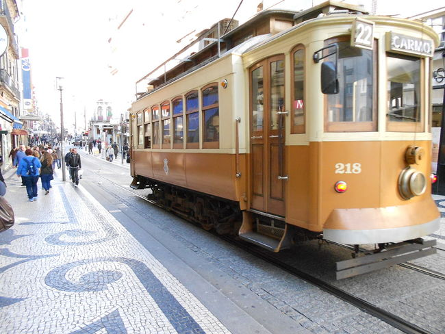 City Portugal Tram Tranquility Transportation Travel Travel Destinations Traveling Vacations
