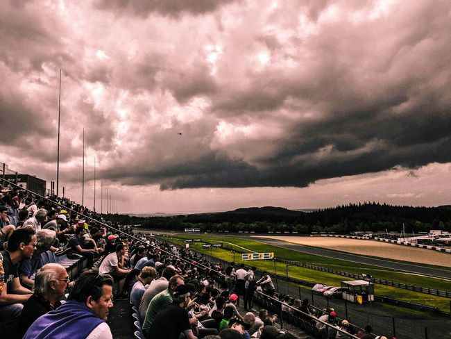 People Photography Tribune 24h Motorsport 24h Race Nurburgring Nordschleife Race Sky And Clouds Racing Clouds People Watching Clouds And Sky Skyporn Sky_collection