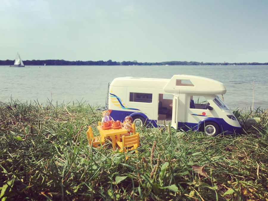 Holiday Lake View Mobilehome My Year My View Nature Outdoors Playmobil Smallworld