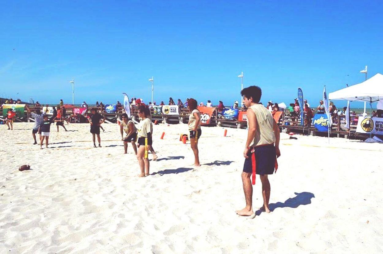 Tocho Flag Football Best Team Ever Beautiful Beach