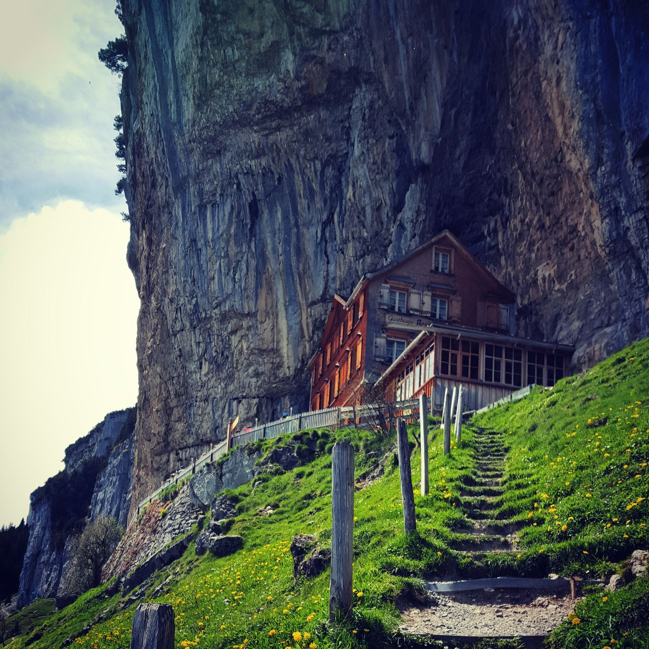 Ächer Berggasthausächer Alpstein Appenzell Switzerland Swiss Swiss Alps Landscape