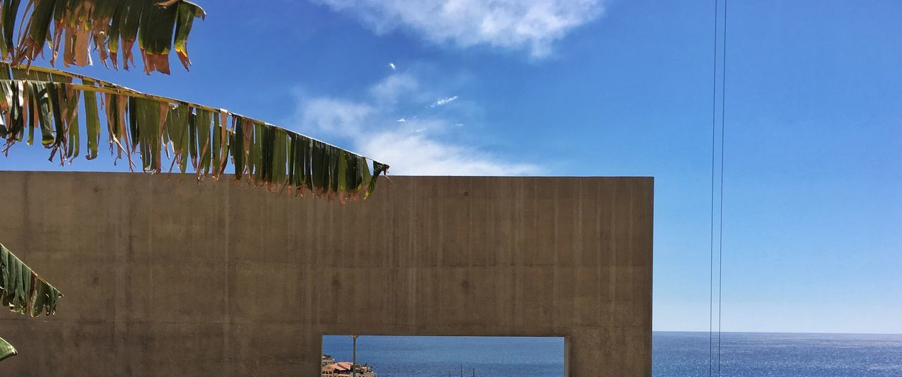 Montecarlo Monaco Sky Day Outdoors Cloud - Sky Built Structure No People Architecture Sea Building Exterior Hanging Drying Water Nature