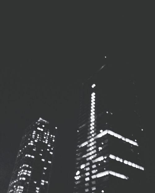 City Nigth 🌜⭐️ Photography Illuminated Black Background Sky