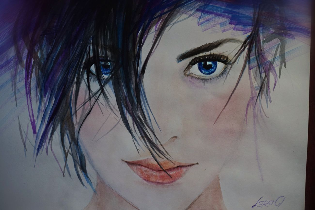 Hello World Drawing My Art Watercolor Я рисую I Love It ❤