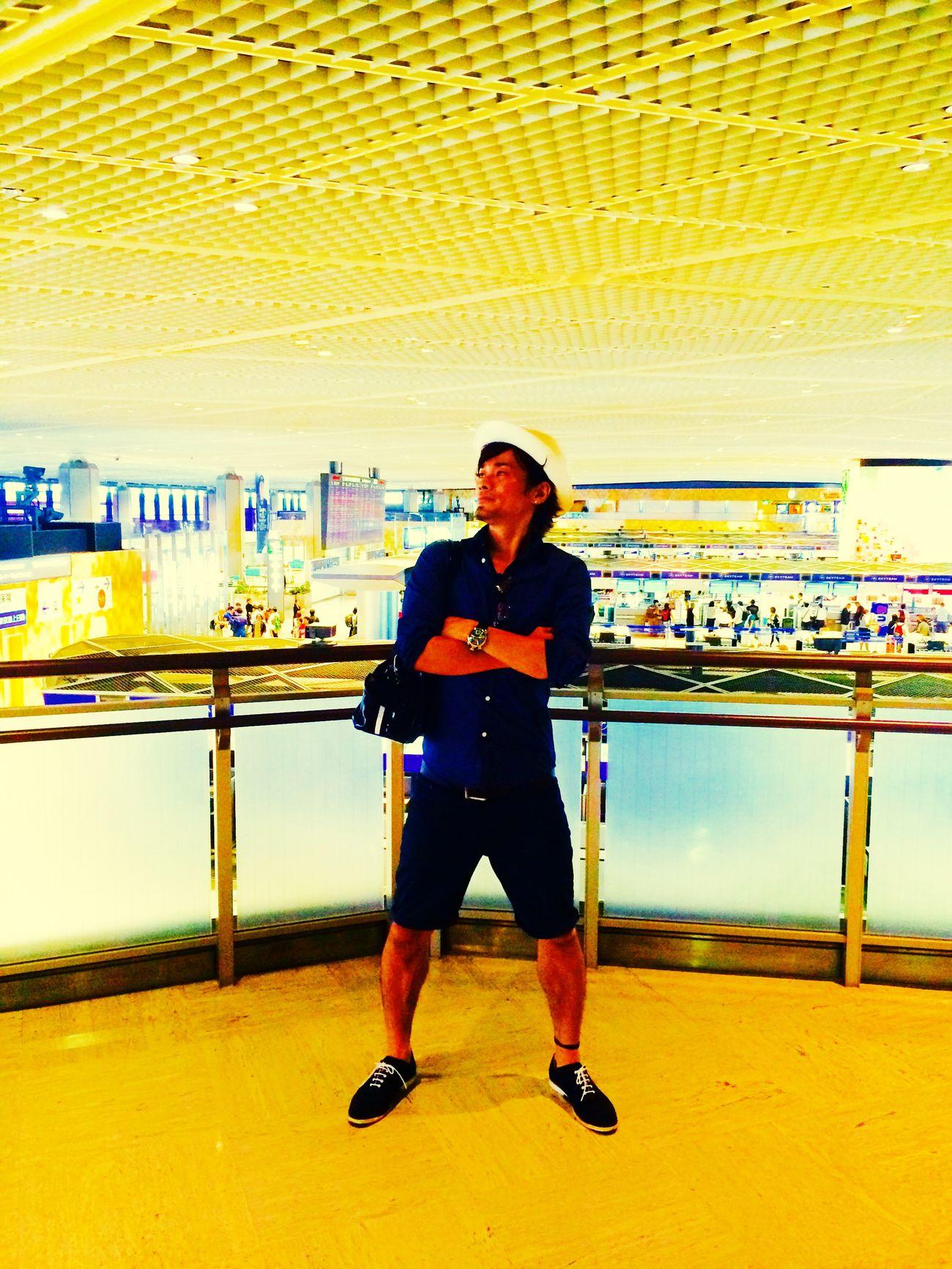 成田空港 2015  Guam 仲間