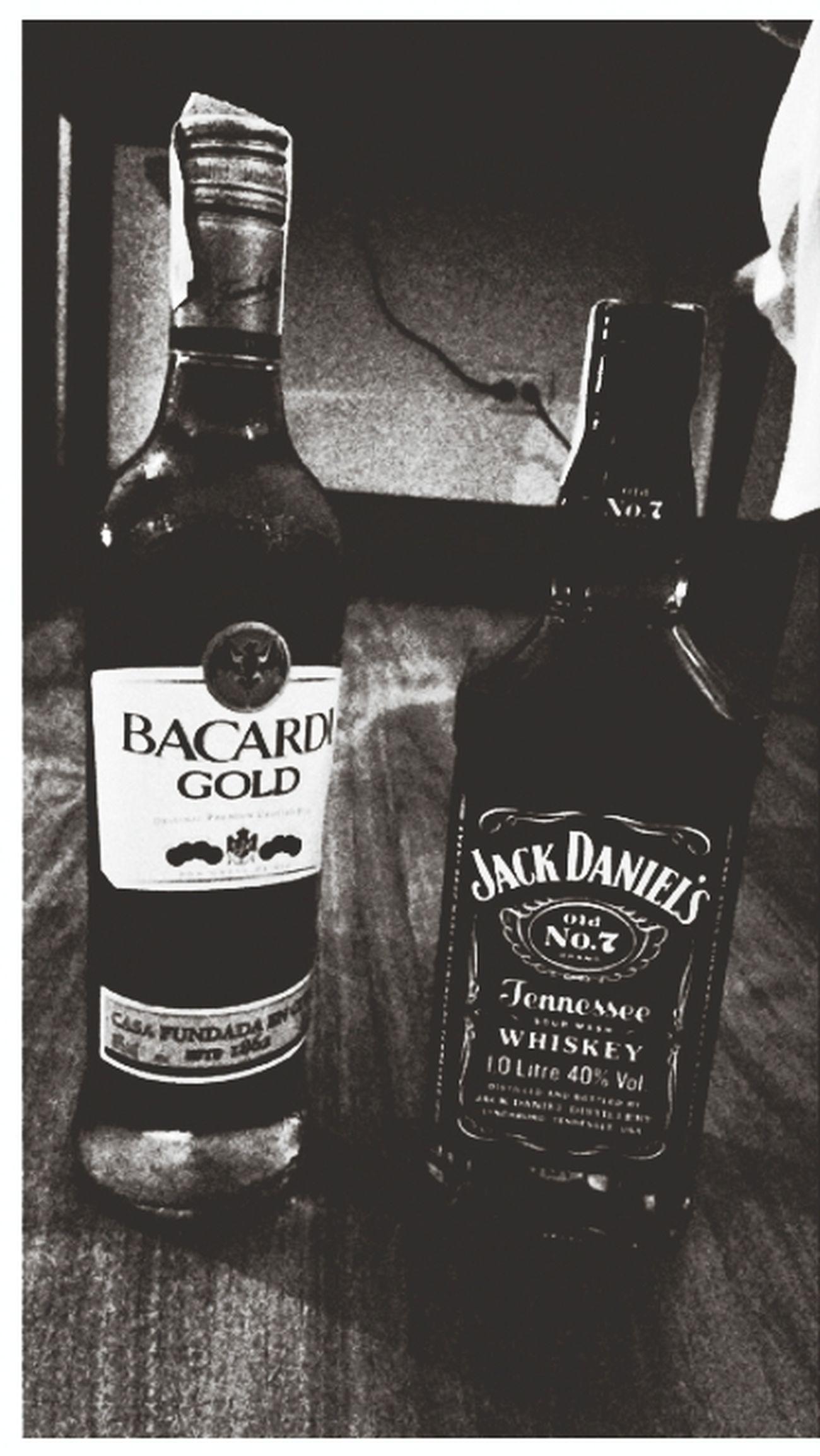 Booze night... Bacardi  Jackdaniels Booze