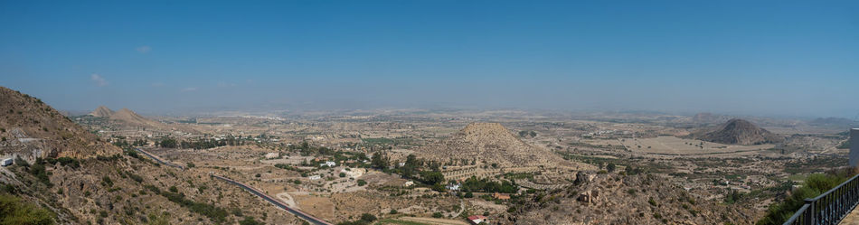 Architecture Beauty In Nature Cityscape High Angle View Landscape Outdoors Panoramic Scenics Tourism Travel Destinations View From Mojacar Pueblo