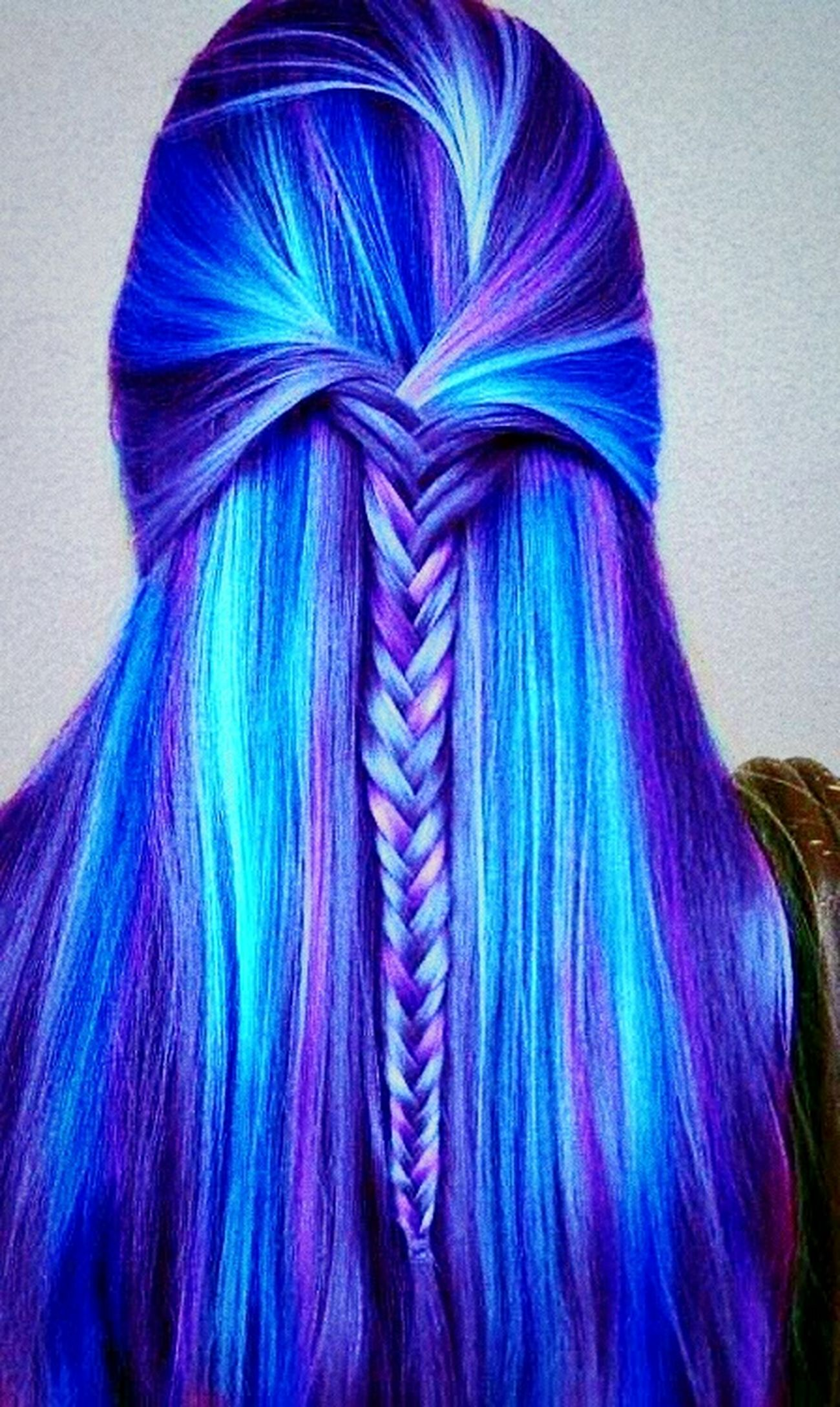 I just wanted to have MY hair like this! Colorful! But I don't have :( Sadforever