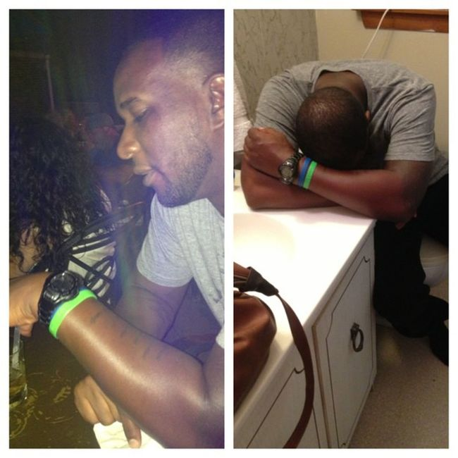 BeforeAndAfter  SignsOfAGoodNight Lastdayofmytwenties CaptMorgan SoCo GrandMarnier Sangria Chasers ? @mmitch325 @floridadoll & a few other niggas who don't have IG, thanks for a good time (pause). FuckAlcohol
