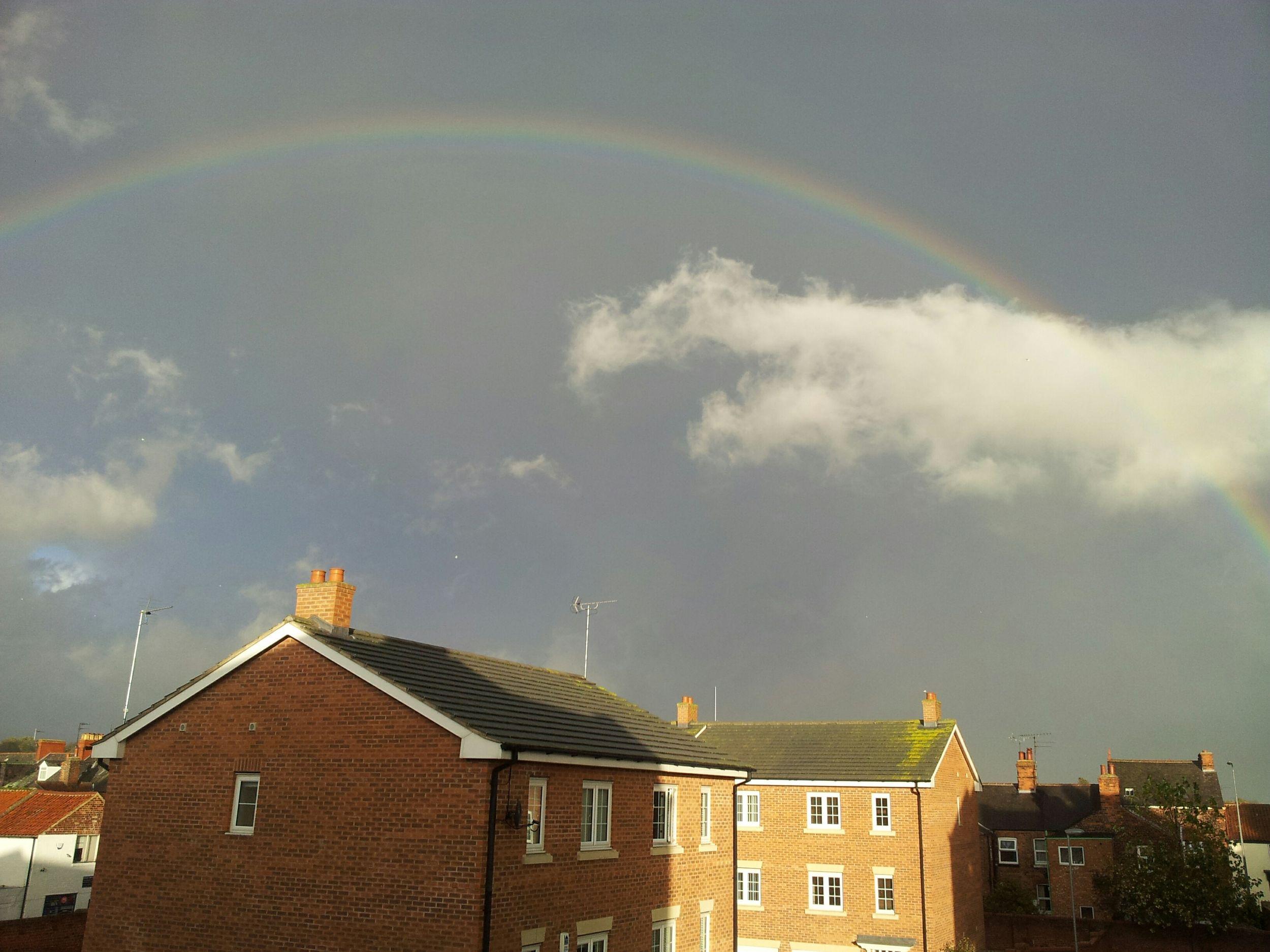 пейзаж радуга небеса весна небо облако моелюбимоенебо русскиеванглии скоровесна бридлингтон