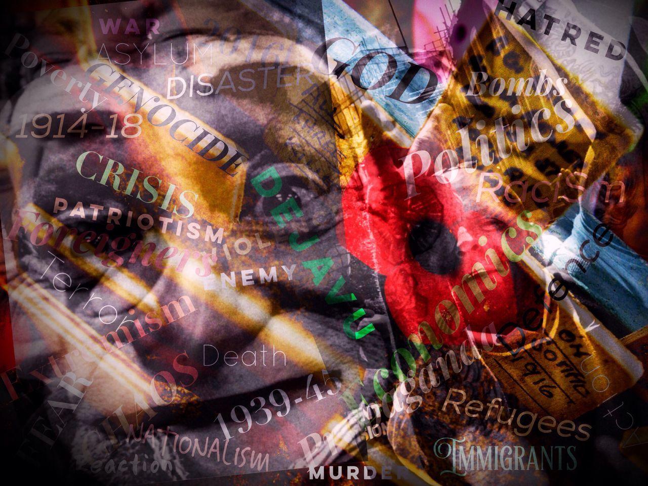 Dejavu 8 Steve Merrick Stevesevilempire Zuiko Olympus Superimpose Dejavu 2016 Refugeeswelcome Refugees Asylum