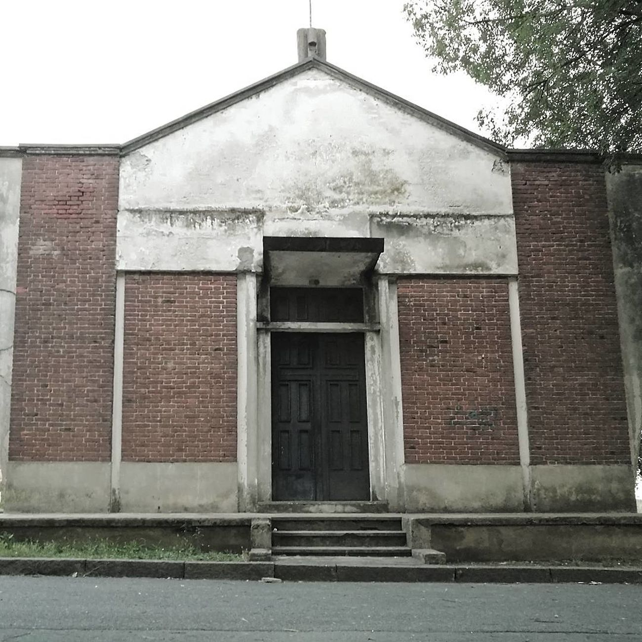 Building Exterior Architecture Façade Church Outdoors Decay Vintage Photo Vintage