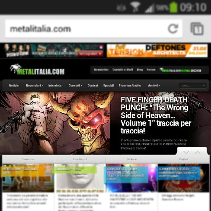 Check out FIVE FINGER DEATH PUNCH track by track preview on Metalitalia.com 5FDP TheWrongSideOfHeavenAndTheRighteousSideOfHell Volume1 Preview Preview Trackbytrack Exclusive