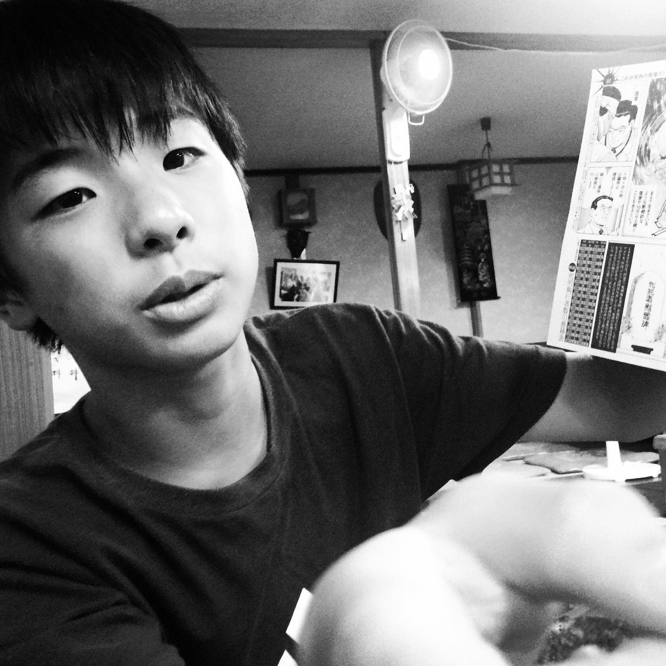 B&W Portrait Black And White Portrait Son Japanese