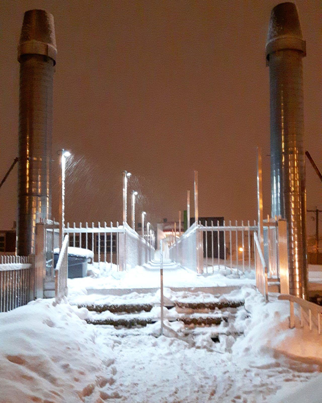 Snow Winter Cold Temperature Snowing Outdoors The City Light Quebec Canton De L'Est Winter Frozen No People Quebec Province Granby Esmondmills Minimalist Architecture