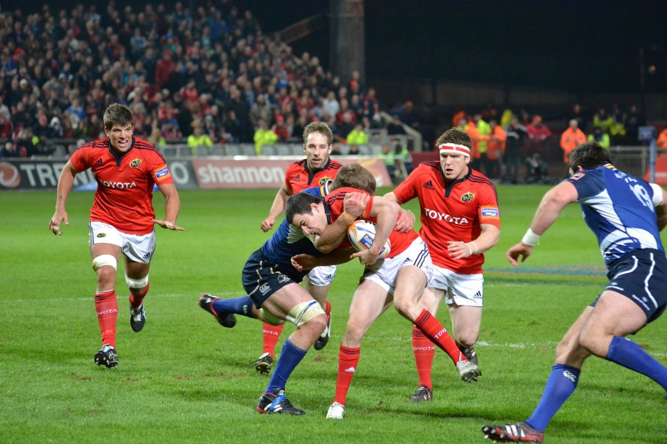 Full blooded Münster Rugby Thomond Park Sport Sports Photography