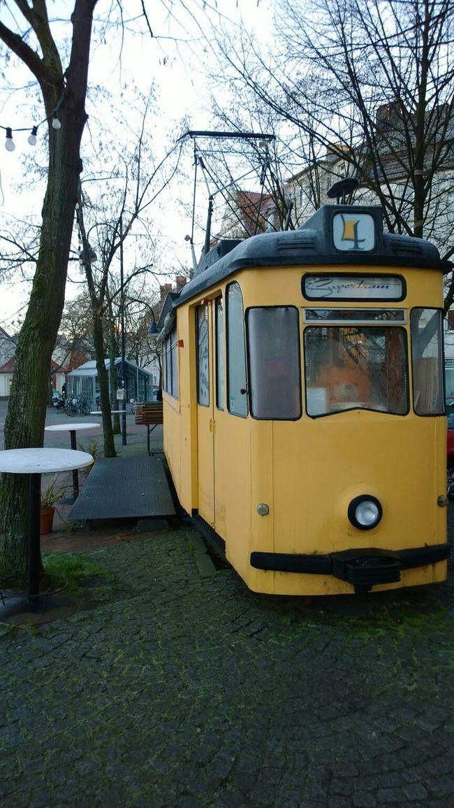 Die Supertram am Siggi@Bielefeld: Früher Sitzbänke, heute Zapfhahn!