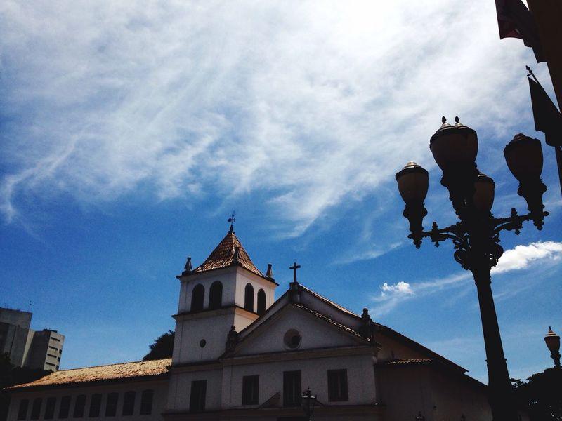 Sao Paulo - Brazil São Paulo Pateodocolegio Pátio Do Colégio Architecture Sky Outdoors Day Centrohistorico