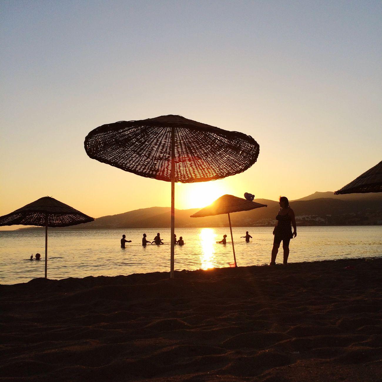 Günbatımı Sonneuntergang çandarlı