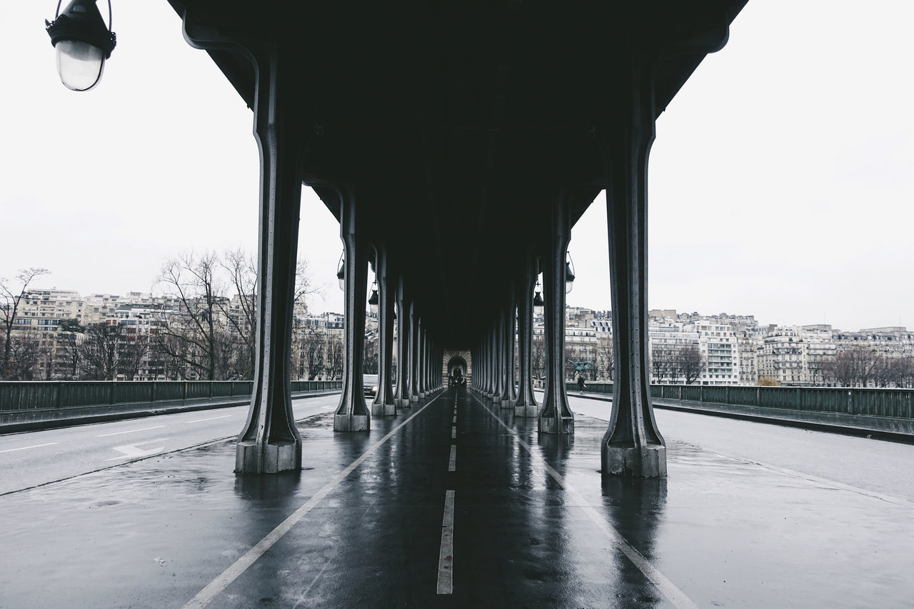 Inception//. Architecture Architecture_collection Bridge Built Structure City City Life Cityscape Cloudy Colors Connection Minimalism Movies Old Outdoors Paris Perspective Places Rain Rainy Days Road Street Streetphotography Urban Urban Geometry Walking Around