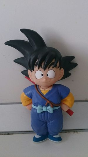 Mi Figura de Goku De Niño de la Serie Manga Japonesa Dragon Ball