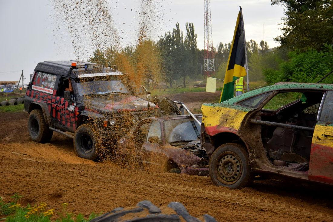 #cars #crash #dust #Poland #race #survival #wrak