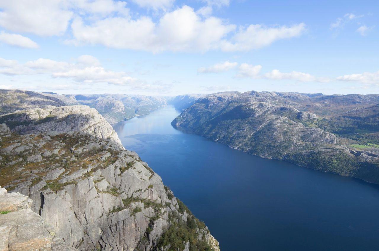 Prekestolen Norway Lysefjord Fjord